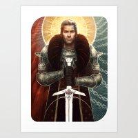 Cullen Card Art Print