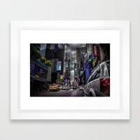 Times Square NYC Framed Art Print