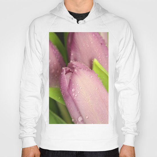 Pink Tulips Hoody