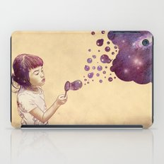 Cosmic Bubbles iPad Case