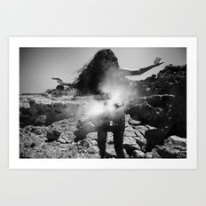 Enter the Dust 01 Art Print