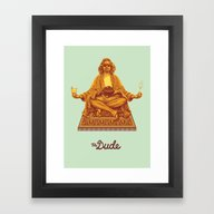 The Lebowski Series: The… Framed Art Print