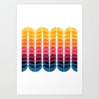 Metamorphosis Pattern Art Print