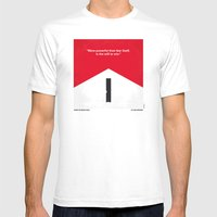 No228 My Rush Minimal Mo… Mens Fitted Tee White SMALL