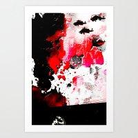 Round Two. Art Print