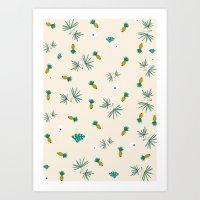 Plantation Art Print