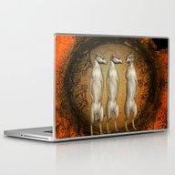 Funny Meerkats  Laptop & iPad Skin