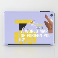 A World Map Of Foreign P… iPad Case