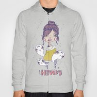 Howdy - From a girl with ghosts Hoody