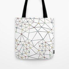 Seg with Color Spots White Tote Bag