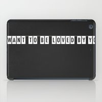 Loved By You iPad Case