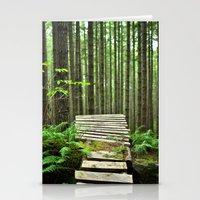 Bike Trail, BC Stationery Cards