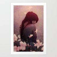 Ghost Exposure Art Print