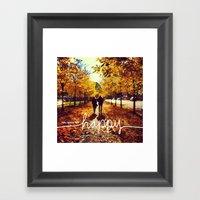 You Make Me Happy Framed Art Print
