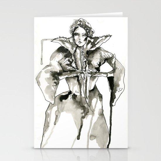 Your Majesty Stationery Card