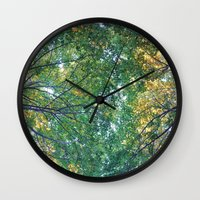 forest 013 Wall Clock