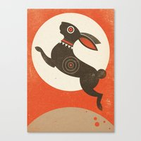 The Witch Hare (Fairy An… Canvas Print