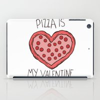 Valentine Pizza iPad Case