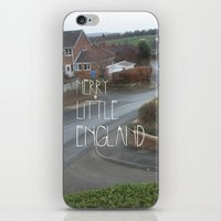 Merry Little England iPhone & iPod Skin