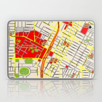 Map design of the University of southern California, LA Laptop & iPad Skin