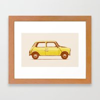 Famous Car #1 - Mini Coo… Framed Art Print