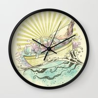 Unique Nesting Wall Clock