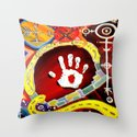 Sinaj (Abstract) Throw Pillow