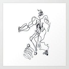 2013-03, Automatic Art Print
