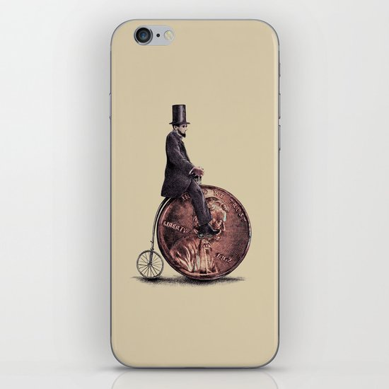 Penny Farthing  iPhone & iPod Skin