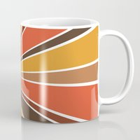 70's Star Burst Mug