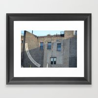 Search.in.NY Framed Art Print