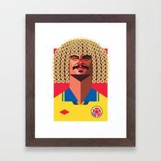 CV10 | Los Cafeteros Framed Art Print