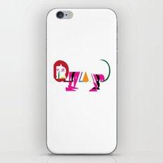 David Nuh Omar's Lion (LION) iPhone & iPod Skin
