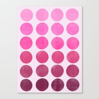 Color Play Pink Canvas Print