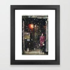 Snowscape I Framed Art Print