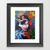 The Sultrine Sinister Framed Art Print
