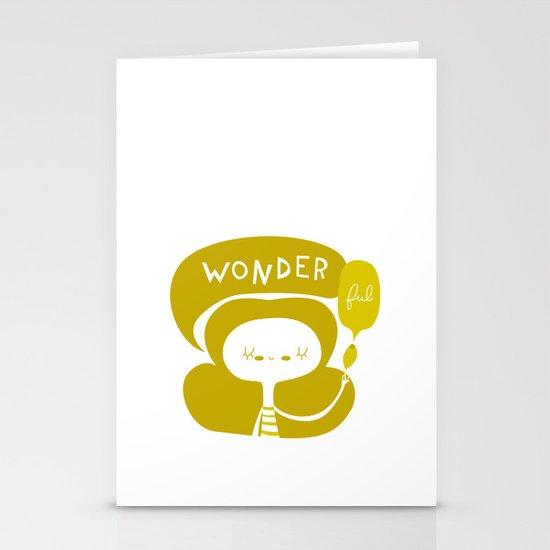 Wonder-ful Stationery Card