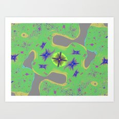 digital art for peace 2 Art Print