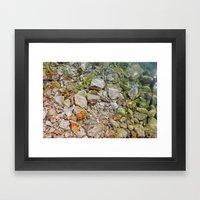 Glittering Framed Art Print