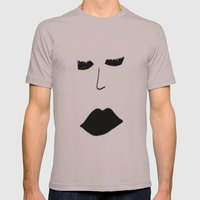 Draining Mens Fitted Tee Cinder SMALL