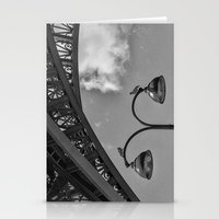 eiffel Stationery Cards featuring Eiffel by Sébastien BOUVIER