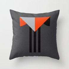 Letter T Throw Pillow