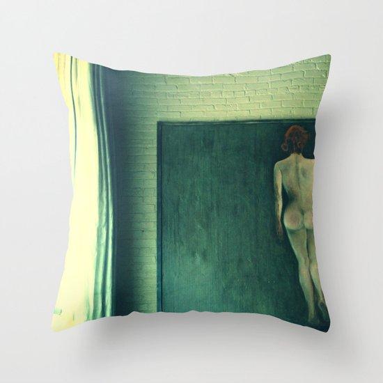 Natural Throw Pillow
