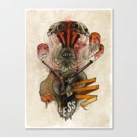 The Destroyer Canvas Print