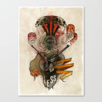The Destroyer Canvas Print