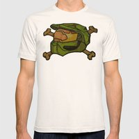 117 Mens Fitted Tee Natural SMALL