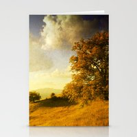 Surreal October Stationery Cards