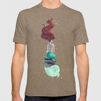 Wish I Could Be Mens Fitted Tee Tri-Coffee SMALL