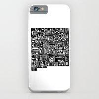 Typographic New Mexico iPhone 6 Slim Case