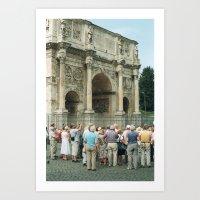 In Rome 2 Art Print